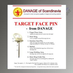 Danage Target Pins