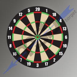 Dart Board Target 60cm